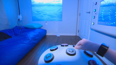 Move over, hygge: It's time to sniff and doze in a Snoezelen room