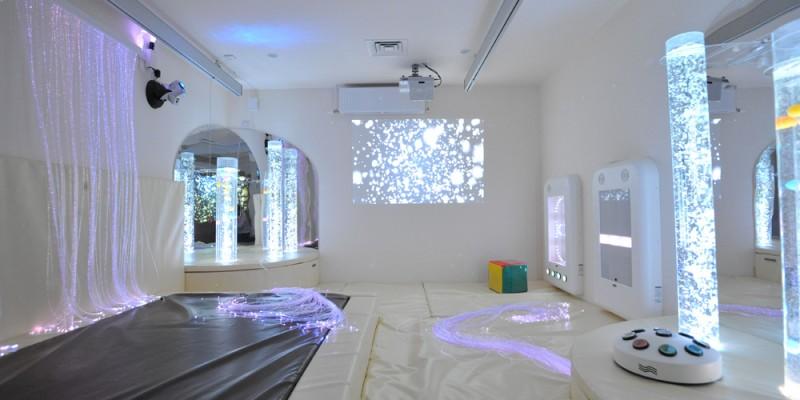 White Sensory Room