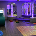Northern Will County Special Recreation Association Snoezelen Sensory Room